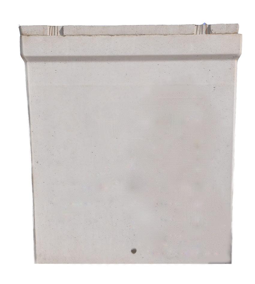 Vasca rettangolare in cemento 10 m³