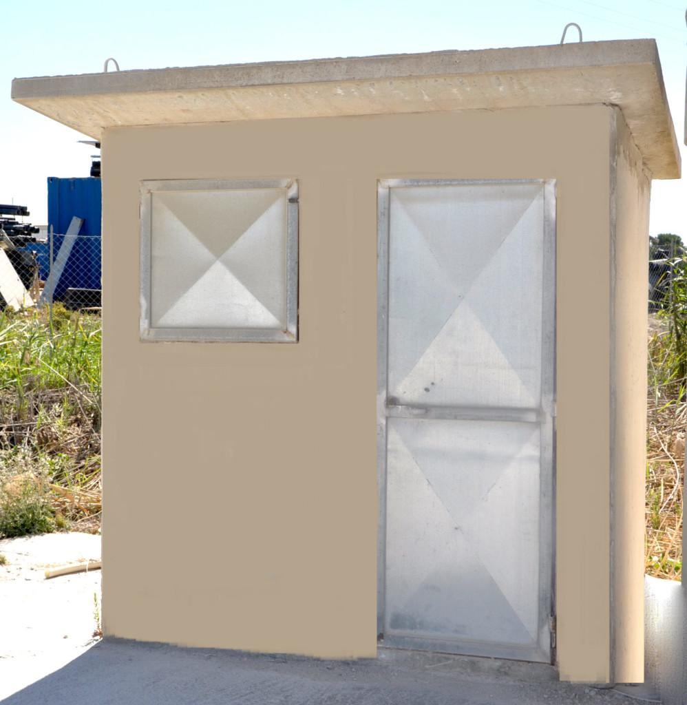 box in cemento prefabbricato
