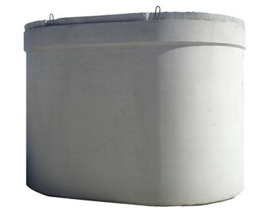Vasca ellissoidale in cemento 12 mc