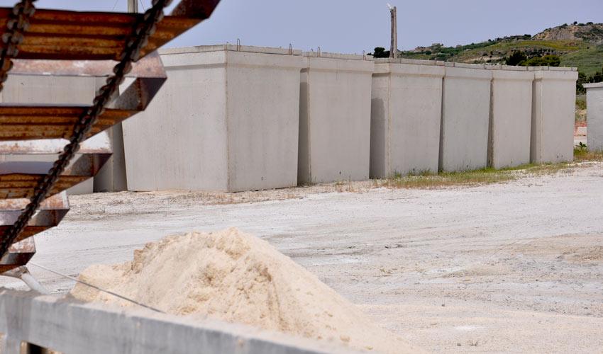 vasche in cemento per acqua