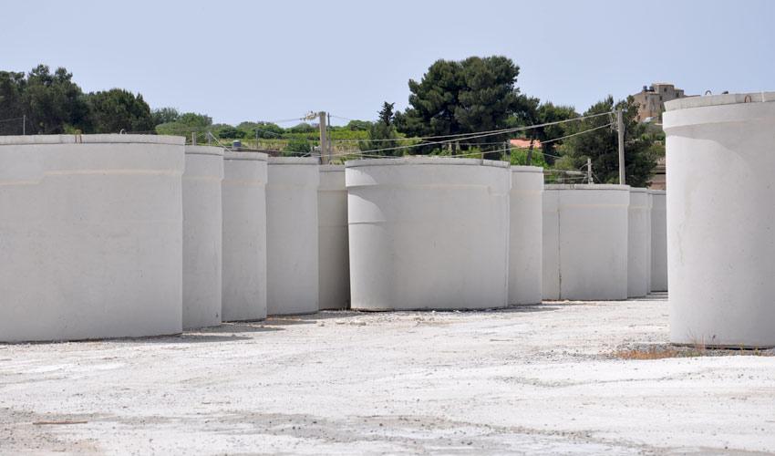 vasche in cemento armato