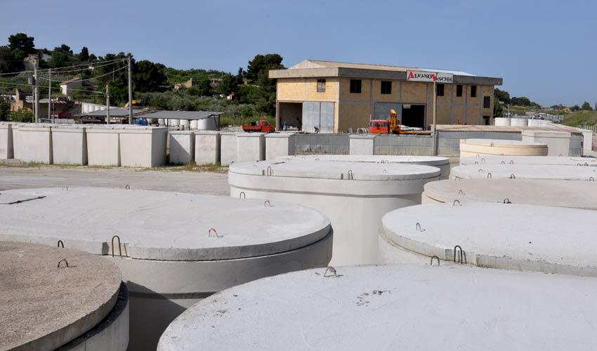 vasca in cemento armato